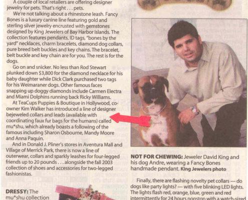 Sun-Sentinel December 2003