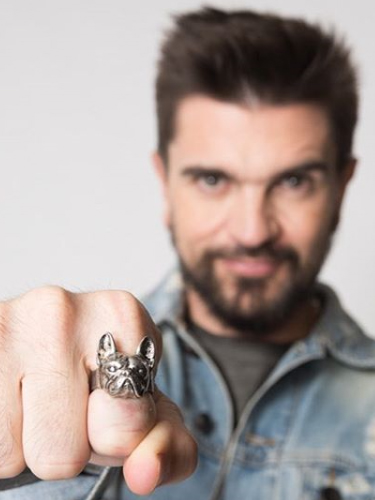 Juanes Parce French Bulldog Ring