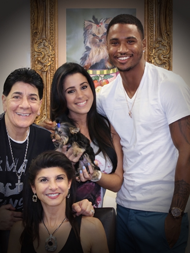 Trey Songz Teacup Puppies