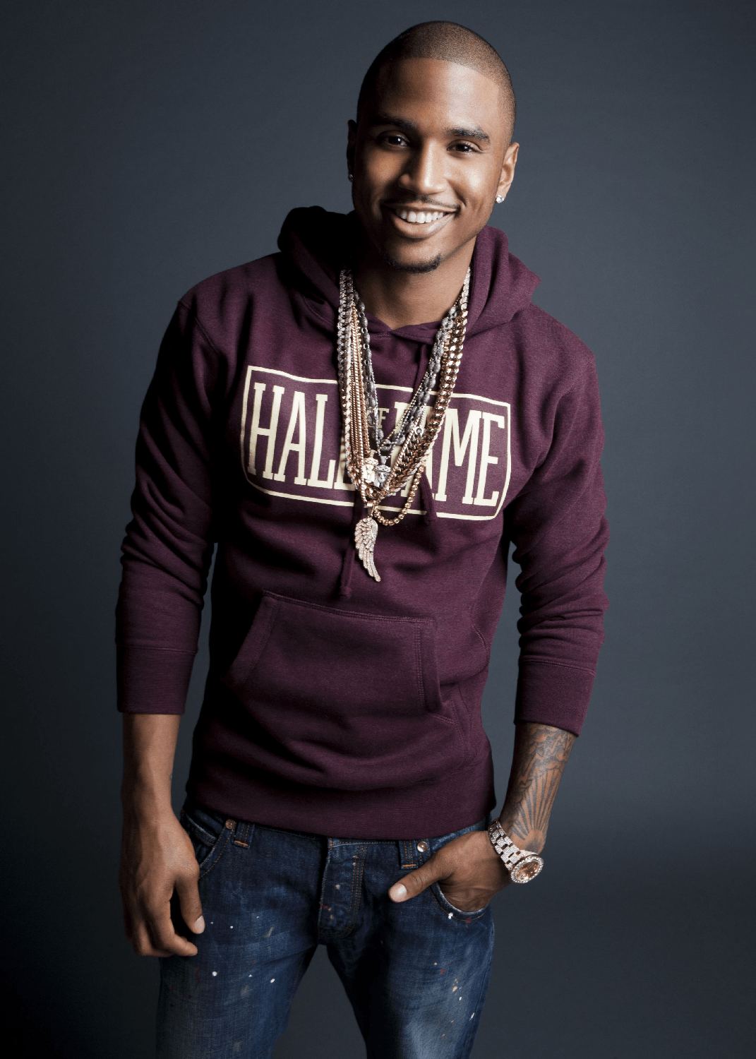 trey songz yorkie puppy celebrity dogs